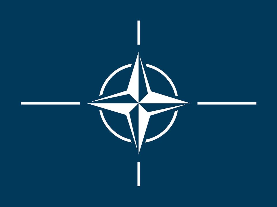 Pavilhão, Otan, Norte, Atlântico, Tratado, Organização