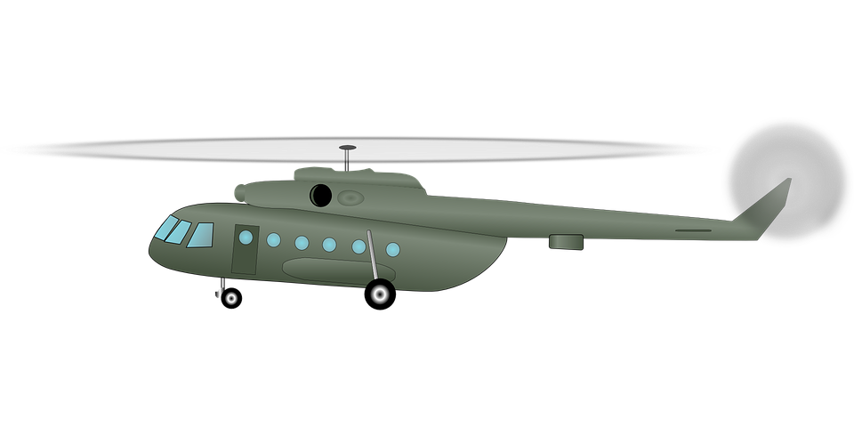 Free Vector Graphic: Helicopter, Chopper, Army