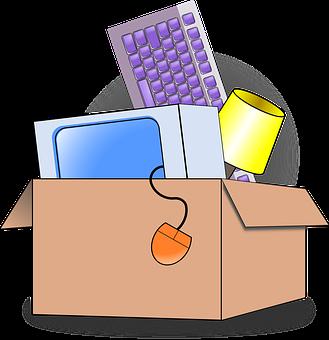 Packing, Moving, Cardboard, Carton
