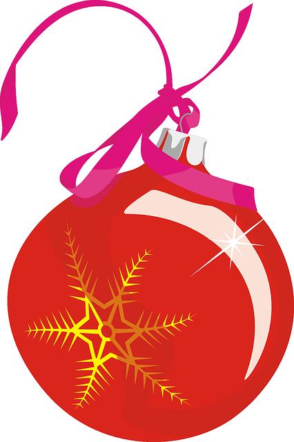 Free vector graphic ornament christmas ball mas