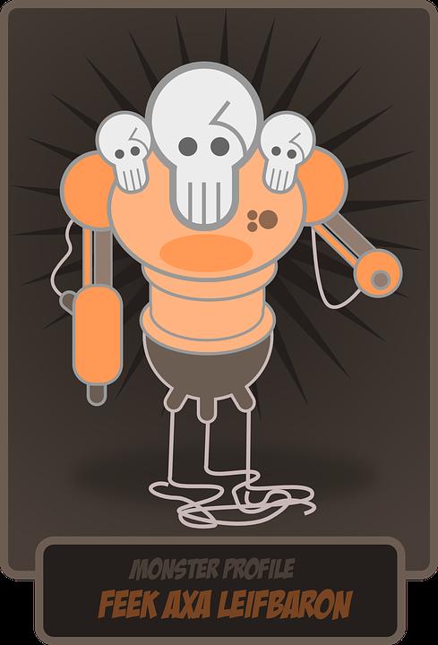 Schädel Roboter Monster · Kostenlose Vektorgrafik auf Pixabay