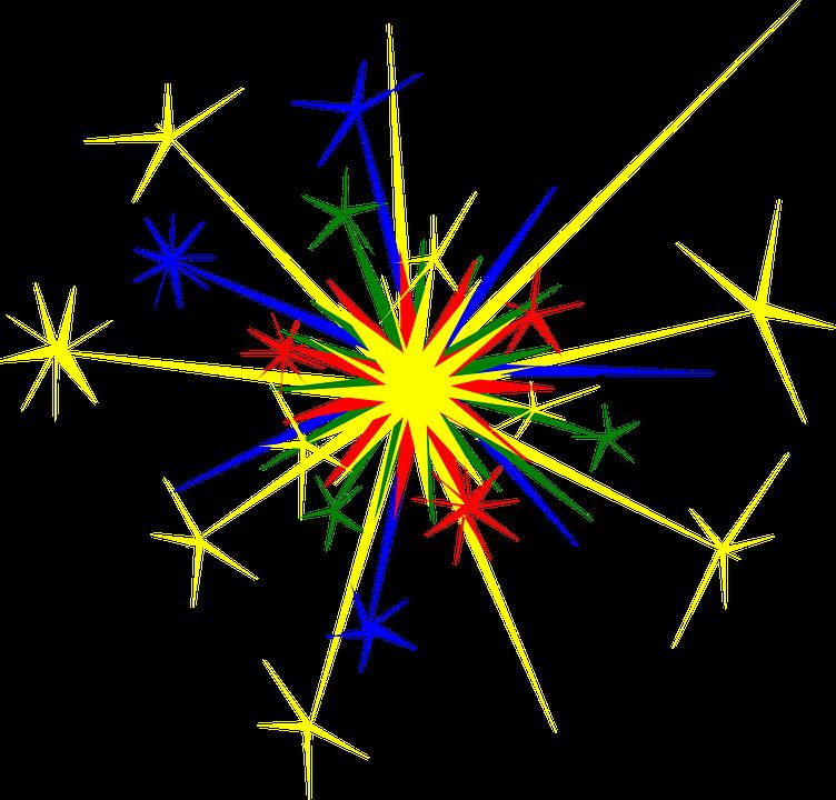 Fuegos Artificiales Explosion Graficos Vectoriales Gratis En Pixabay