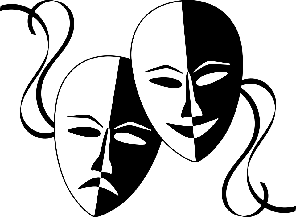 Maskers, Maskerade, Masque, Gezichten, Theater