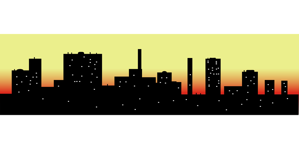 Free vector graphic: Skyline, Cityscape, Buildings - Free ...