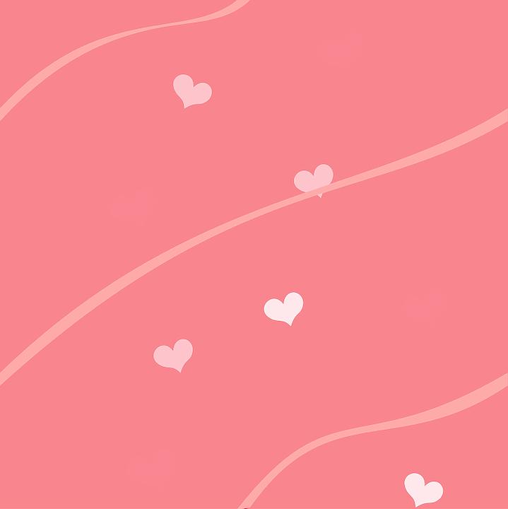 Sfondo Rosa Cuori Grafica Vettoriale Gratuita Su Pixabay