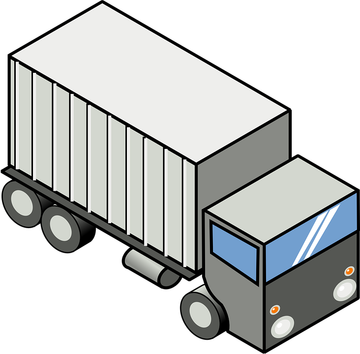 Truck Transportation Vehicle Free Vector Graphic On Pixabay
