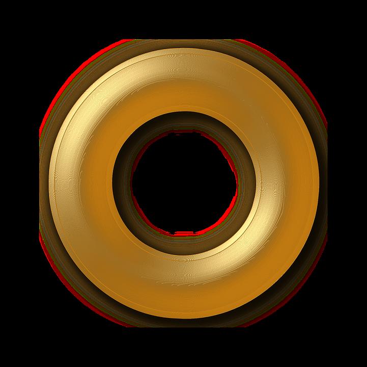 Golden Ring Paint