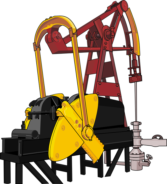 Free Vector Graphic Oil Pump Oil Production Free Image