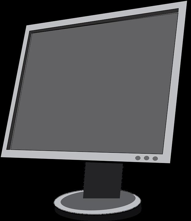 kostenlose vektorgrafik monitor lcd bildschirm panel. Black Bedroom Furniture Sets. Home Design Ideas