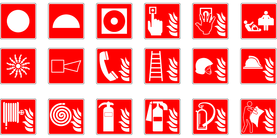 Symbols Emergency Fire Free Vector Graphic On Pixabay