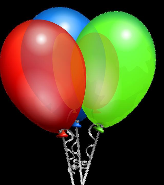 Globos Cumpleaños Celebración - Gráficos vectoriales gratis en Pixabay bfd89de9048