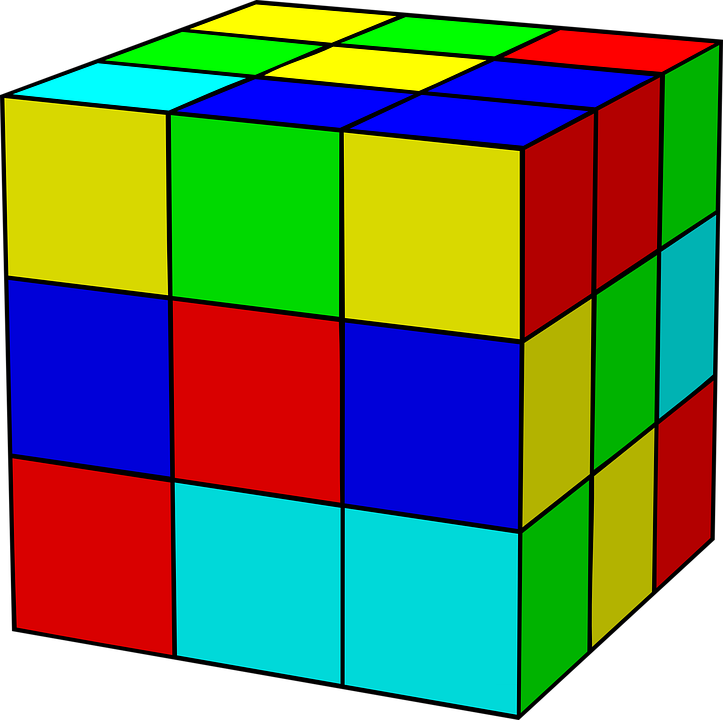 rubik s cube rubik free vector graphic on pixabay rh pixabay com  unifix cubes clipart