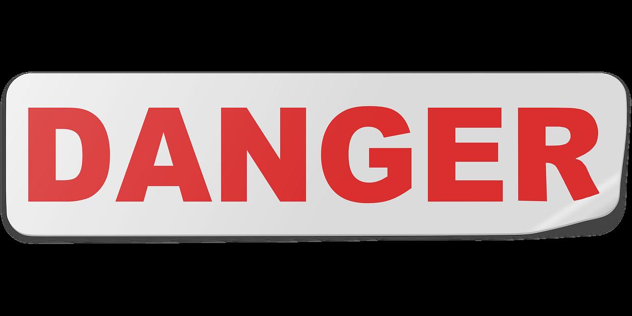 Danger Sticker Label - Free vector graphic on Pixabay