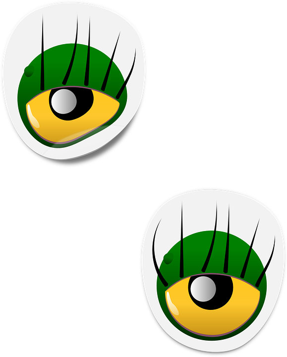 Free vector graphic: Eyes, Sticker, Monster, Scary - Free Image on ...