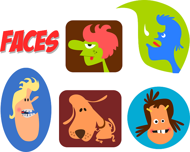 Faces Cartoons People 183 Free Vector Graphic On Pixabay