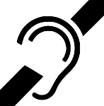hearing, impaired, deaf