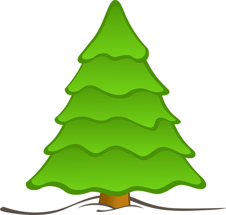 tree forest nature christmas free vector graphic on pixabay rh pixabay com