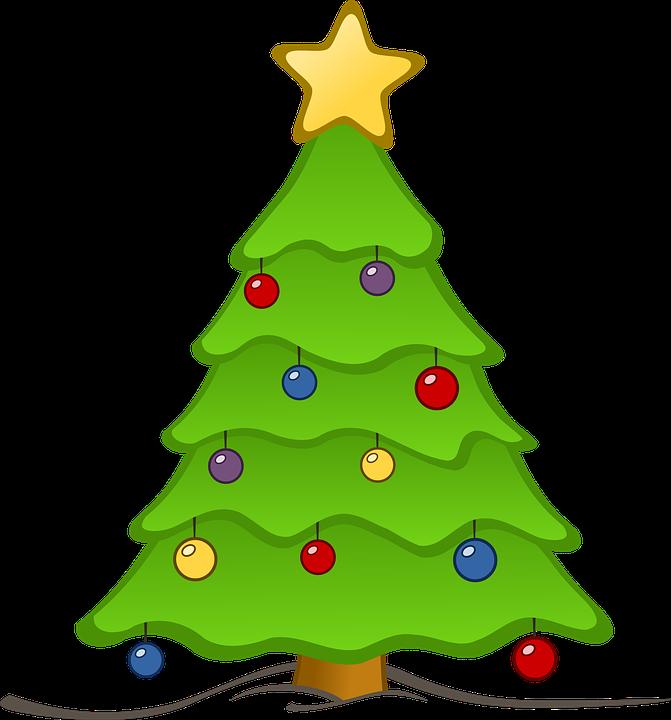 Albero Di Natale, Sfondo Di Natale, Albero, Natale