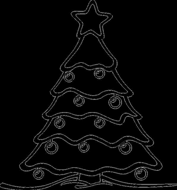 kostenlose vektorgrafik weihnachtsbaum kostenloses bild. Black Bedroom Furniture Sets. Home Design Ideas