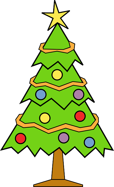 Christmas Tree · Free vector graphic on Pixabay
