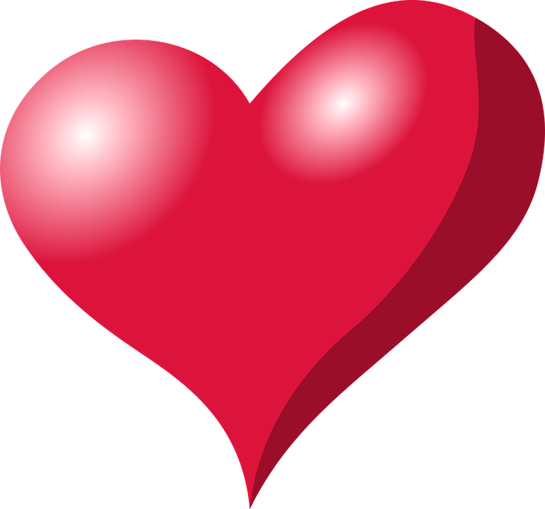 Heart Red Love Free Vector Graphic On Pixabay