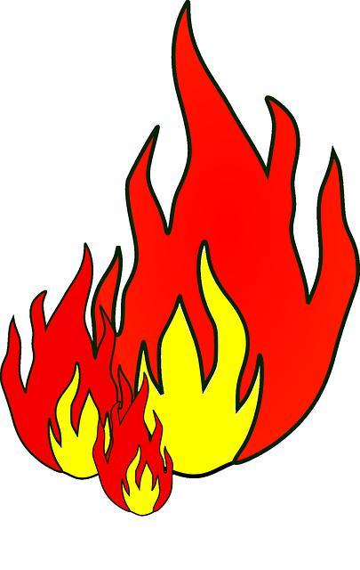 red jaune le feu  u00b7 images vectorielles gratuites sur pixabay