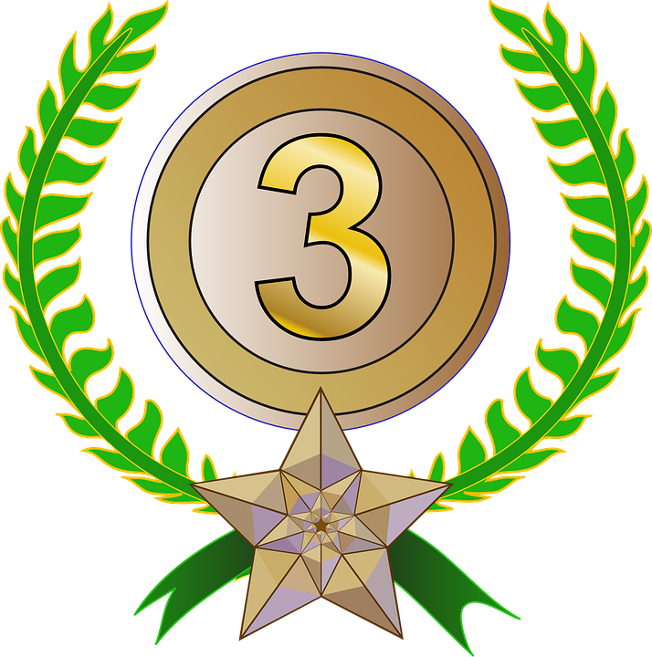 award trophy laurel wreath free vector graphic on pixabay