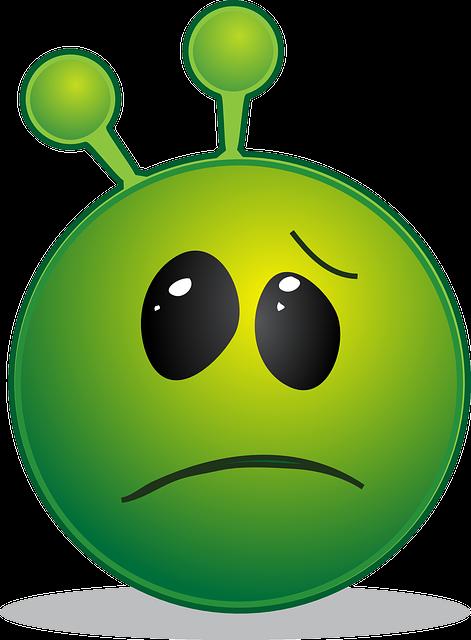Alien Smiley Emoji · Free vector graphic on Pixabay