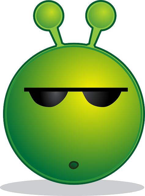 Free Vector Graphic Alien Smiley Huh Emotion Free