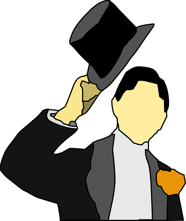Smoking Tux Cappello A Cilindro - Grafica vettoriale gratuita su Pixabay 9cd9931e0270
