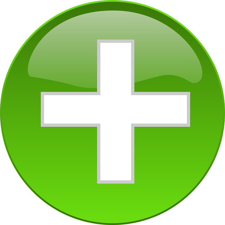 free vector graphic green cross button medical free