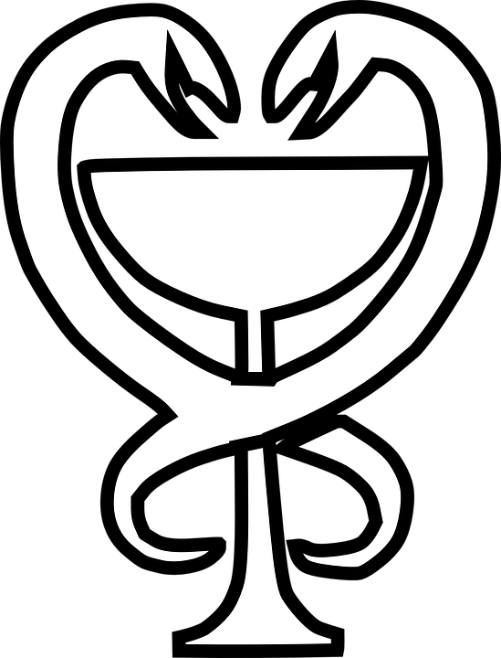 free vector graphic medicine logo icon symbol cup