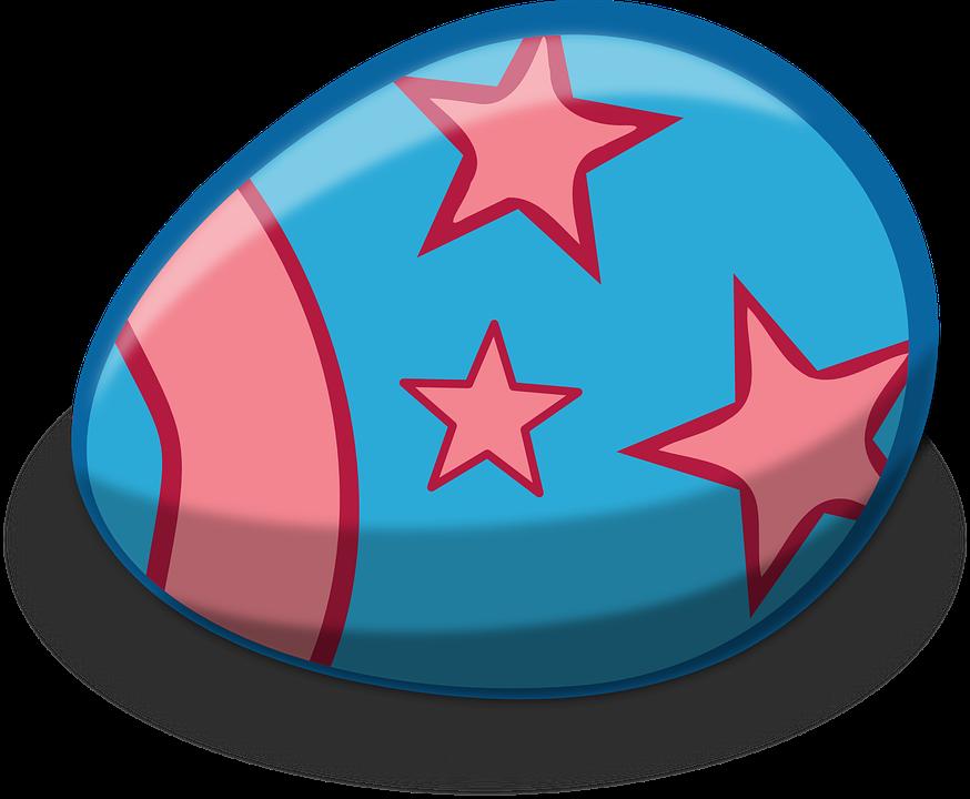 Ovo Pascoa Estrelas Grafico Vetorial Gratis No Pixabay