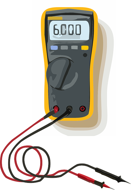 Clip On Voltage Tester : Free vector graphic tester electronics lead measure