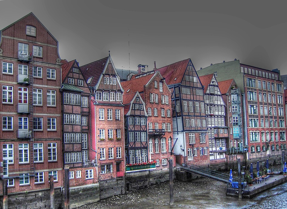 Free Photo Dyke Road Hamburg Port Homes Free Image