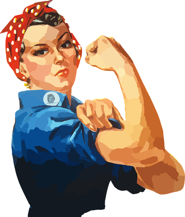 Woman Equality Rosie Riveter Women Workforce