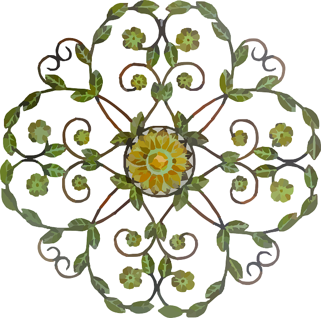 Free vector graphic flowers floral decorative craft for Decorative flowers for crafts
