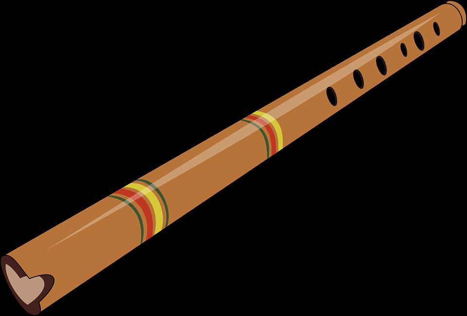 Vector gratis: Flauta, Viento, Instrumento - Imagen gratis