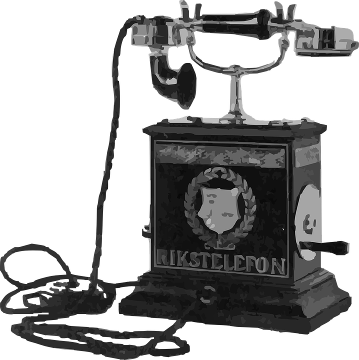 vintage telephone clipart - photo #27