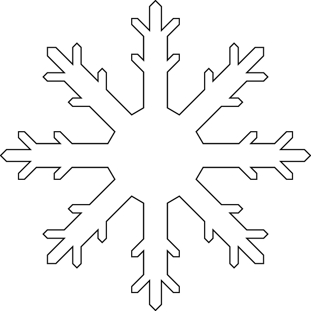 snowflake winter snow free vector graphic on pixabay. Black Bedroom Furniture Sets. Home Design Ideas