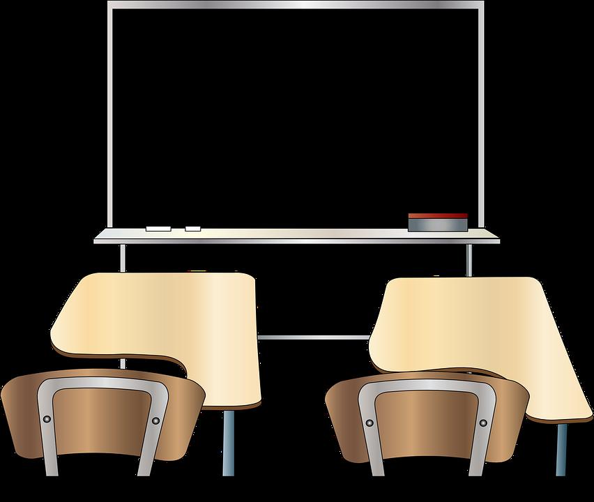 classroom table vector. classroom, blackboard, class, learning, education classroom table vector