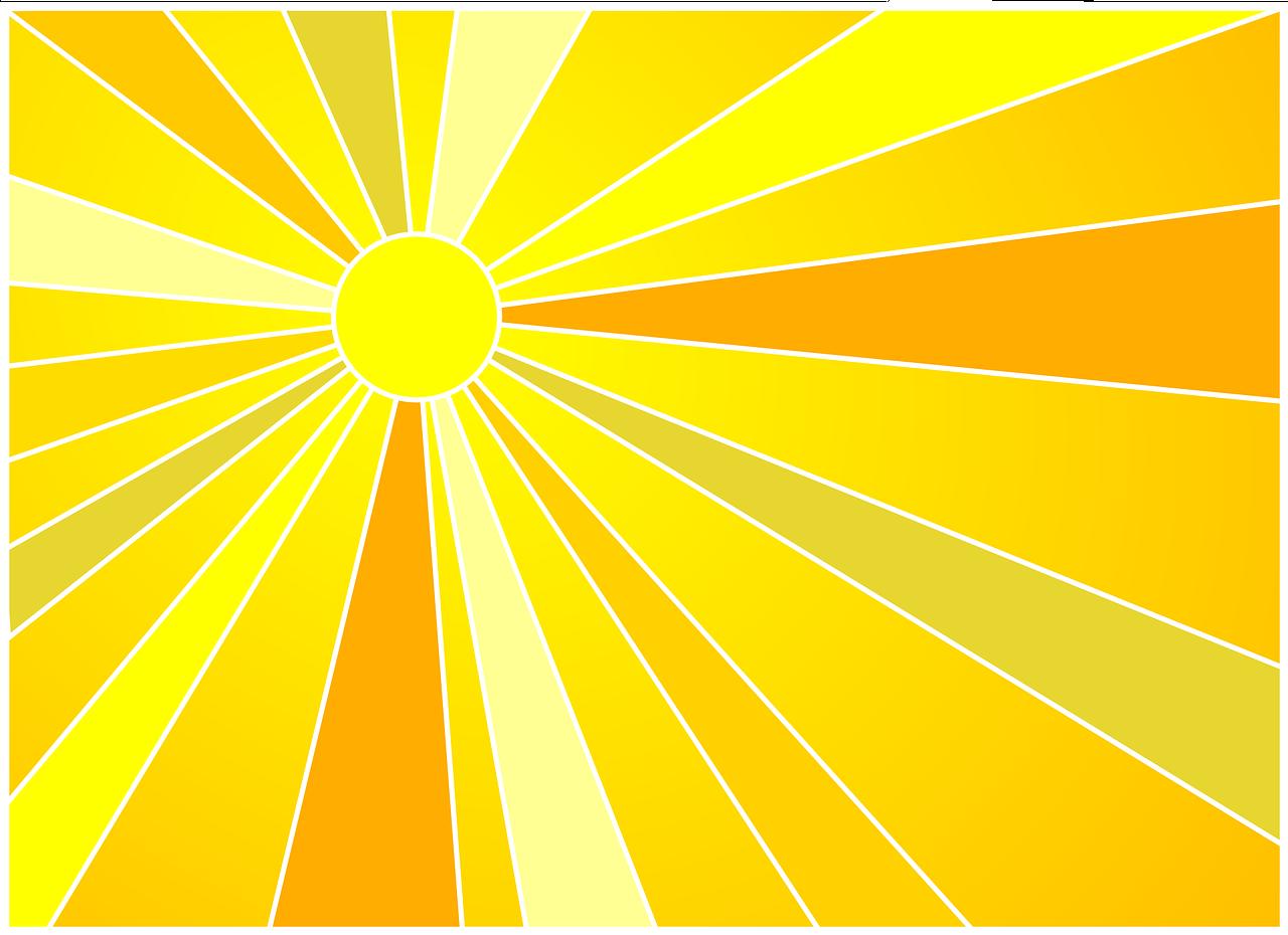 Картинки с лучами солнца, открытки
