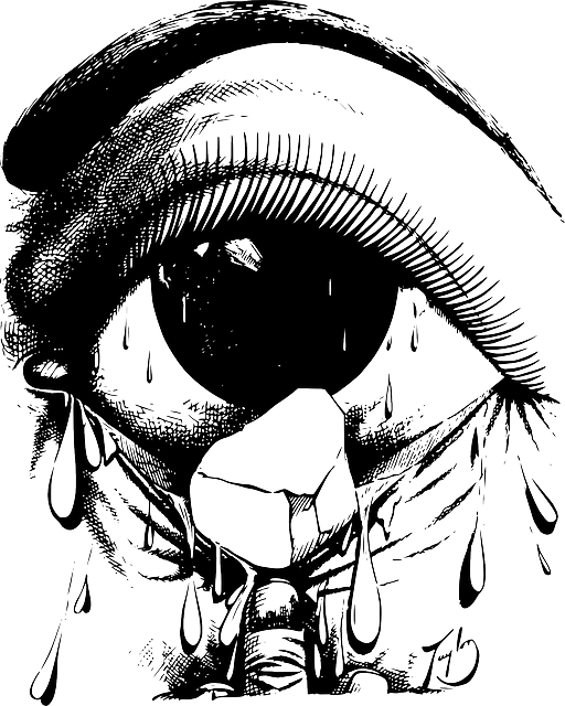 Eye Irritant Cry &#183...A Beautiful Cartoon Girl Face