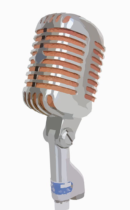 Free Vector Graphic Microphone Mic Record Sound Free