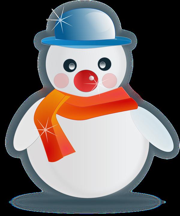 Image vectorielle gratuite bonhomme de neige hiver no l - Clipart bonhomme de neige ...