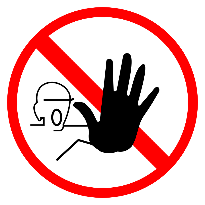 Sign Stop Halt Free Vector Graphic On Pixabay