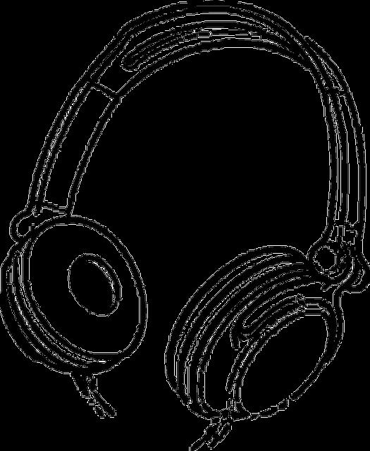 headphones music entertainment  u00b7 free vector graphic on