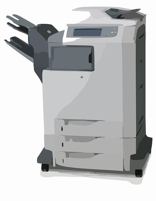 copieur scanner imprimante images vectorielles gratuites sur pixabay. Black Bedroom Furniture Sets. Home Design Ideas
