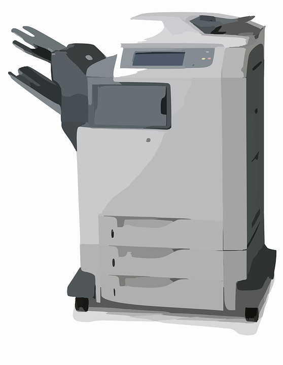 Image vectorielle gratuite Copieur Scanner Imprimante Image