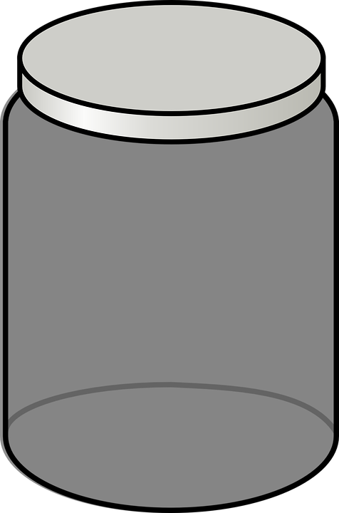 jar empty glass free vector graphic on pixabay jar empty glass free vector graphic